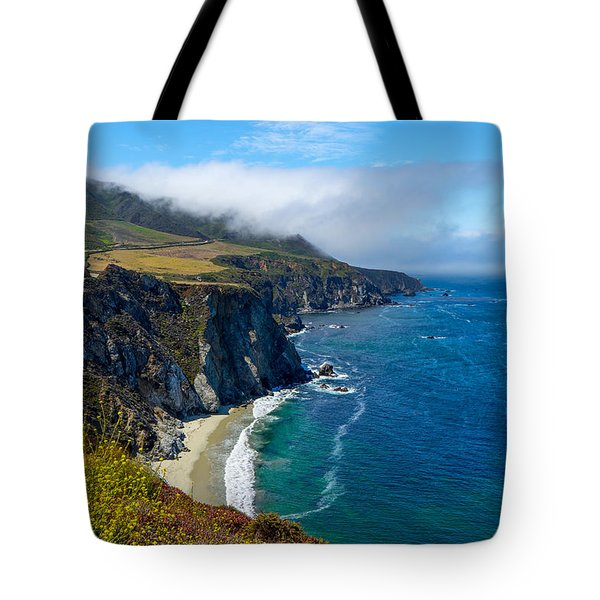 Hurricane Point In The Clouds Tote Bag