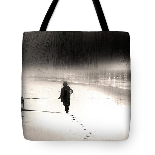 Tote Bag featuring the photograph Hurry Home by Gray  Artus
