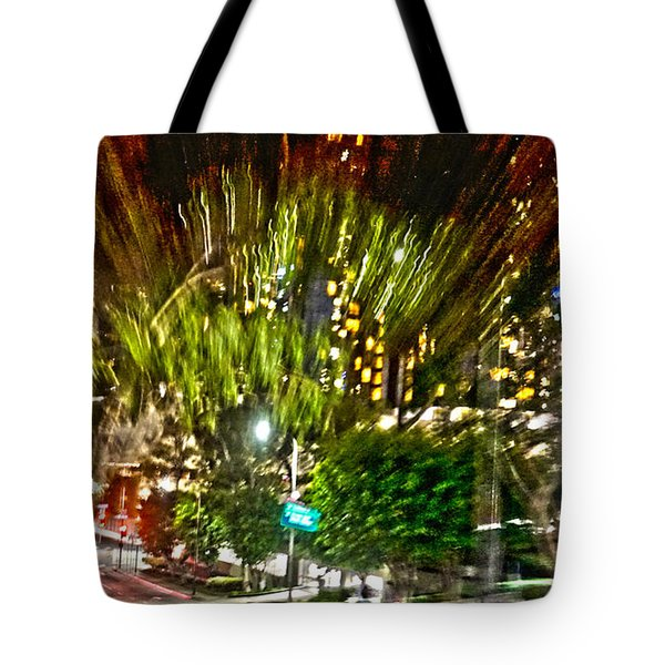 hurry up - in L.A. Tote Bag
