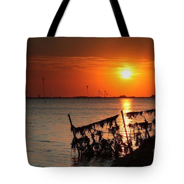 Husum Sunset Tote Bag