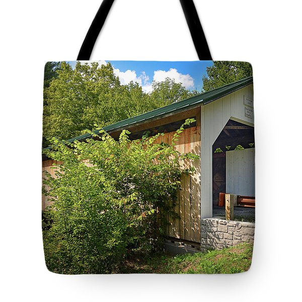Hutchins Bridge Tote Bag