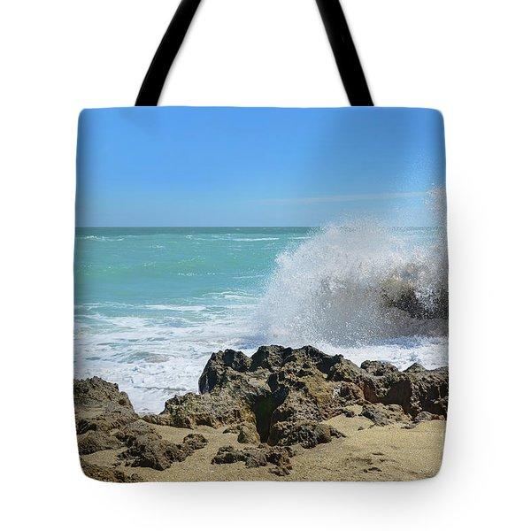 Hutchinson Island Martin County Florida Tote Bag