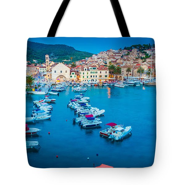 Hvar Panorama Tote Bag