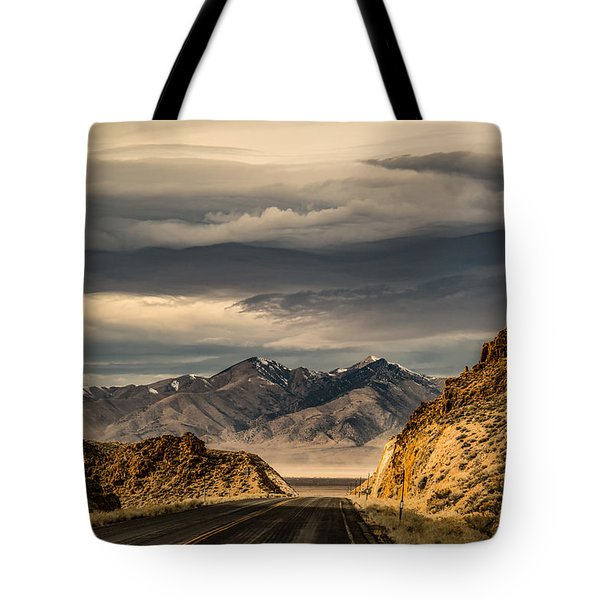Hwy 50 New Pass Summit Tote Bag