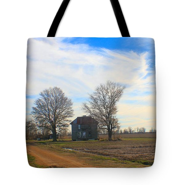 Hwy 8 Old House 2 Tote Bag