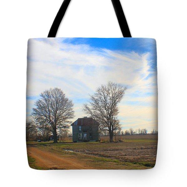 Hwy 8 Old House 2 Tote Bag