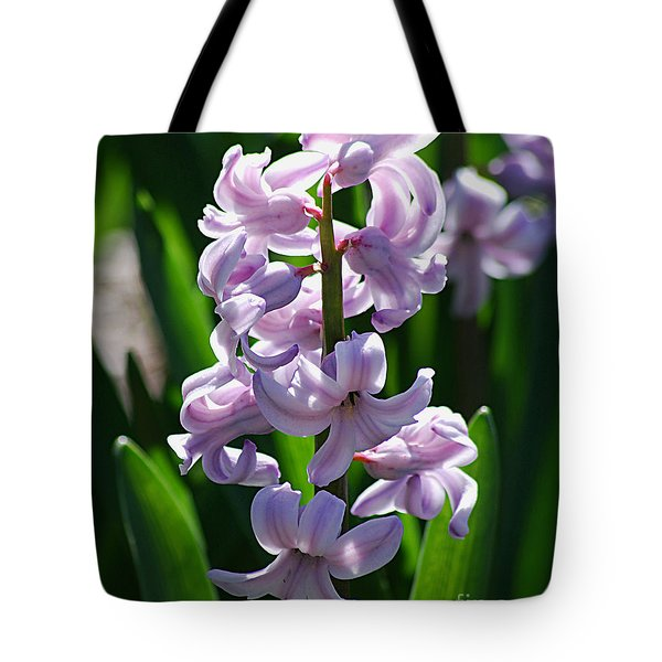 Tote Bag featuring the photograph Hyacinth 20120402_127a by Tina Hopkins
