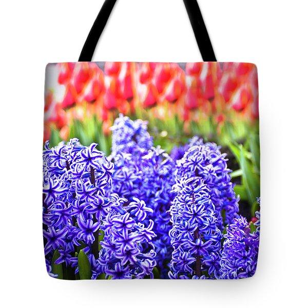 Hyacinth In Bloom Tote Bag by Tamyra Ayles