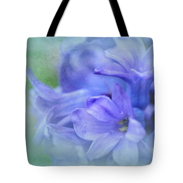 Tote Bag featuring the photograph Hyacinths Of Spring by Elaine Manley