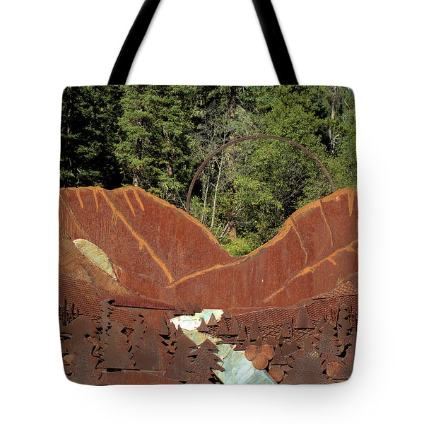 Hyalite Canyon Sculpture Tote Bag