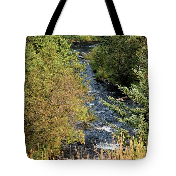 Hyalite Creek Overlook Tote Bag