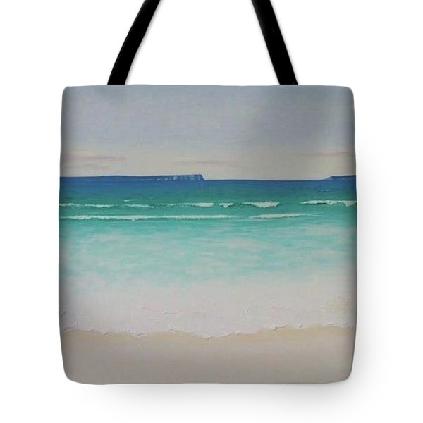 Hyams Beach Tote Bag