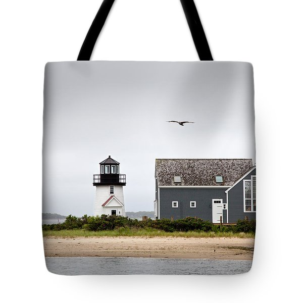 Hyannis Harbor Lighthouse Cape Cod Massachusetts Tote Bag