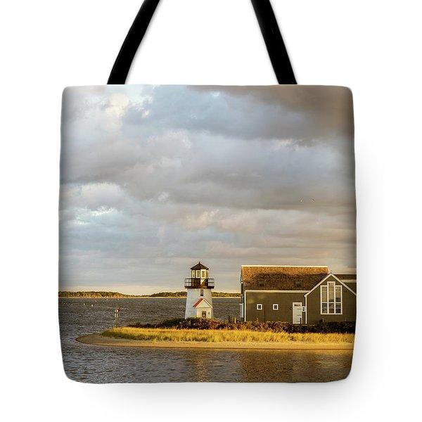 Hyannis Harbor Lighthouse Tote Bag
