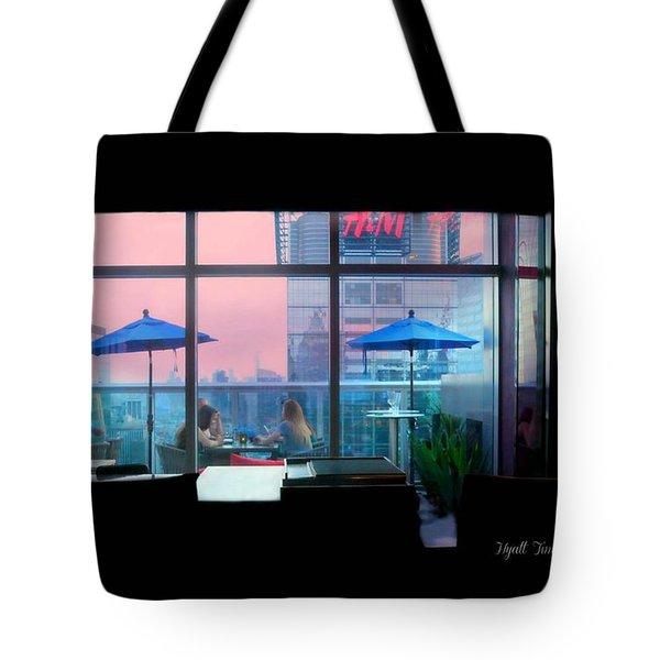 Hyatt 54 New York City Tote Bag