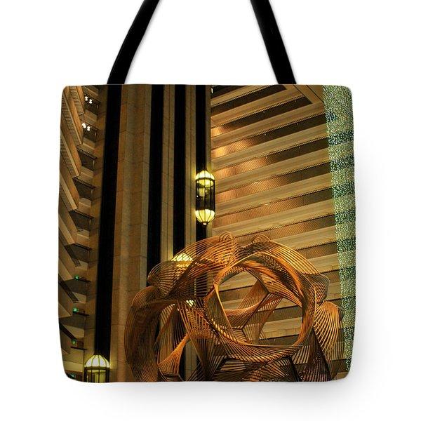 Hyatt Regency Sf Atrium Tote Bag