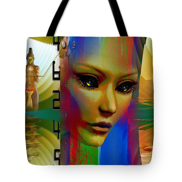 Tote Bag featuring the digital art Hybrid by Shadowlea Is