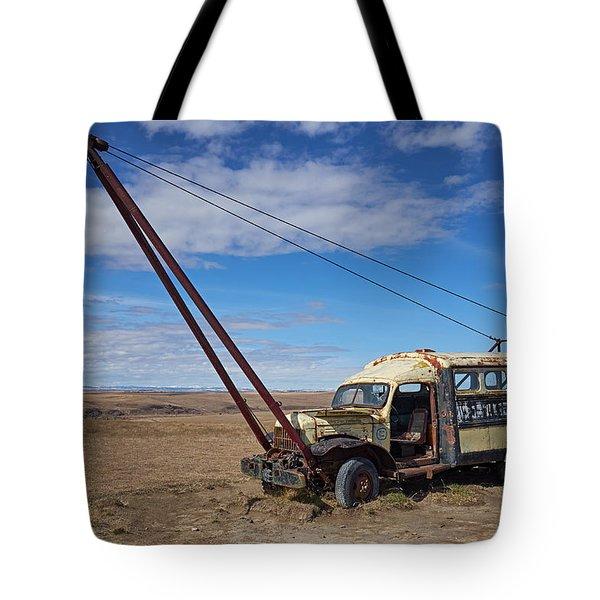 Hybrid Vehicle Tote Bag by Trever Miller