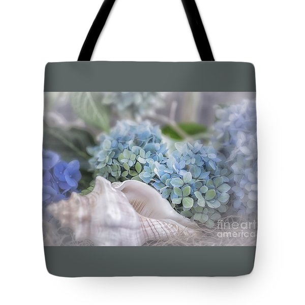 Hydrangeas By The Sea Tote Bag