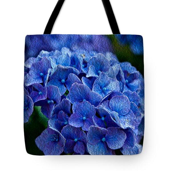 Hydrangea  Tote Bag by Dennis Eckel