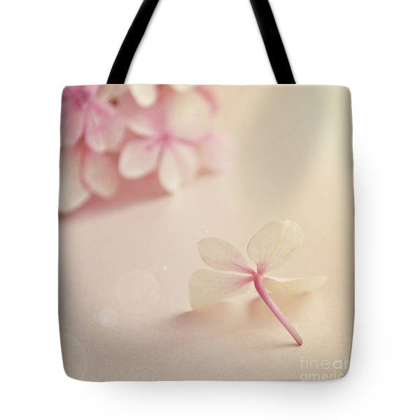 Tote Bag featuring the photograph Hydrangea Flower by Lyn Randle