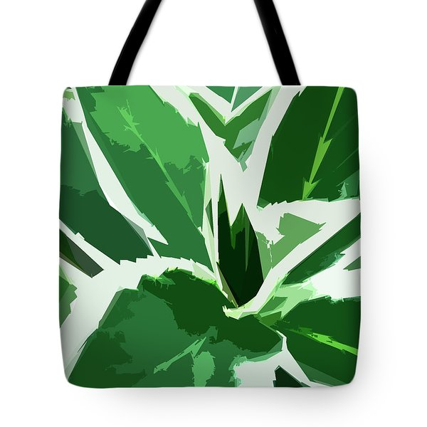 Tote Bag featuring the digital art Hydrangea by Gina Harrison
