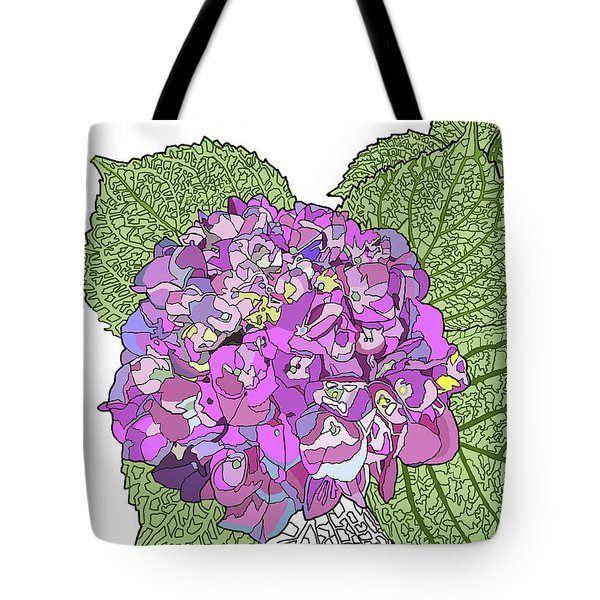 Hydrangea Tote Bag by Jamie Downs