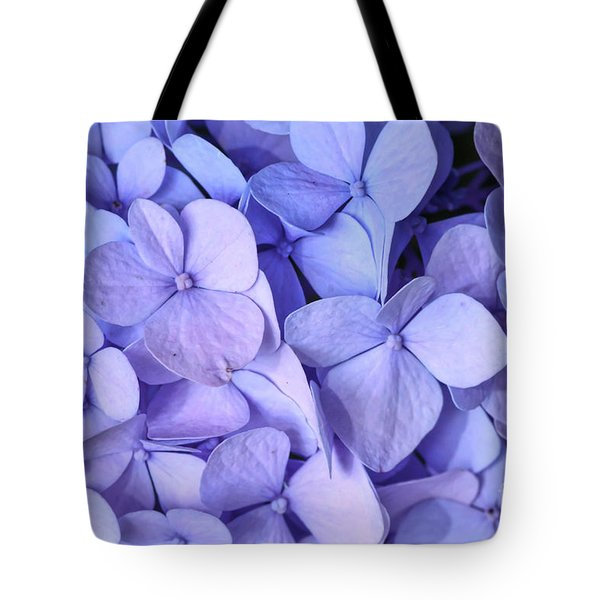 Tote Bag featuring the photograph Hydrangea by Kerri Farley