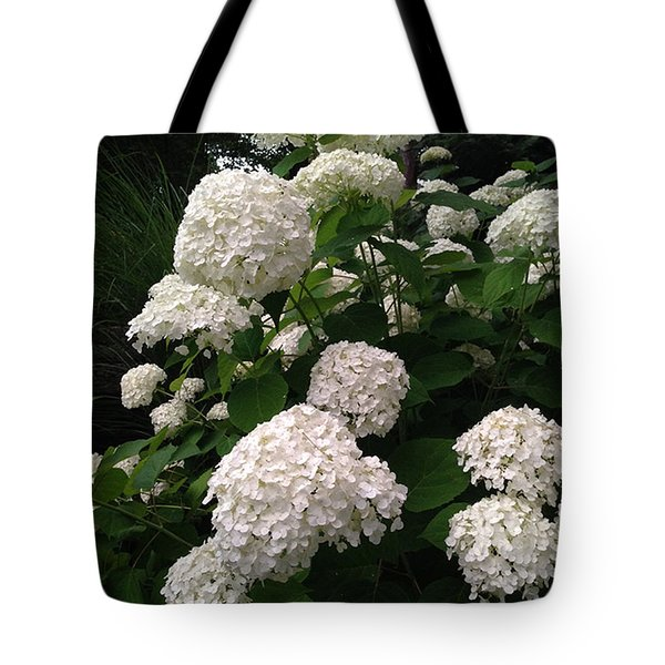 Tote Bag featuring the photograph Hydrangeas by Ferrel Cordle