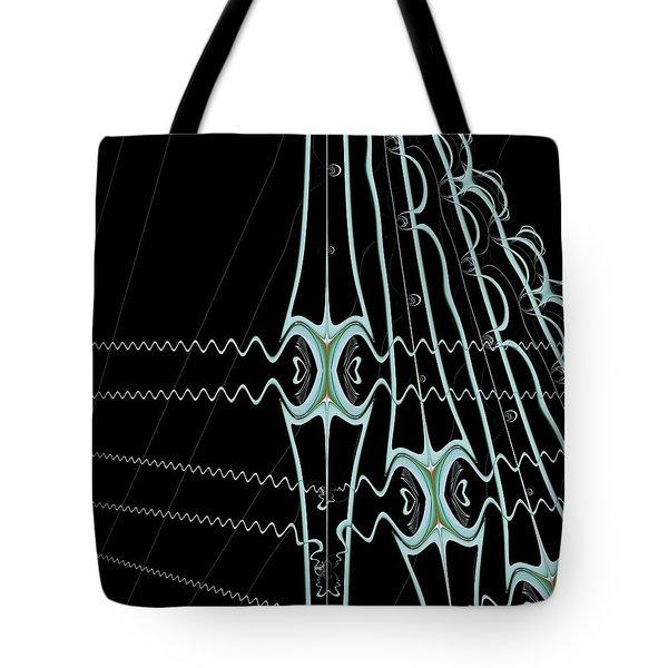 Tote Bag featuring the digital art Hydras by Dragica  Micki Fortuna