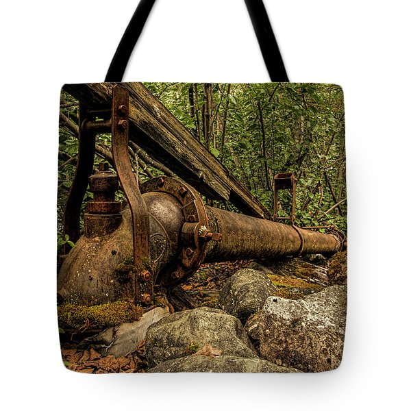 Hydraulic Monitor Tote Bag