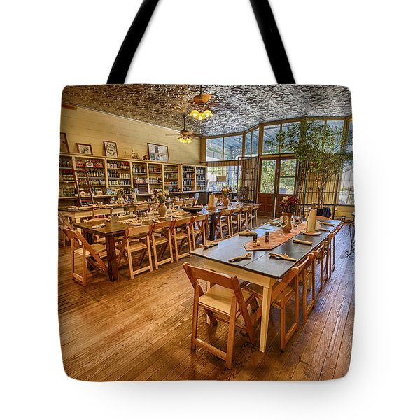 Hye Market General Store Tote Bag by Kathy Adams Clark