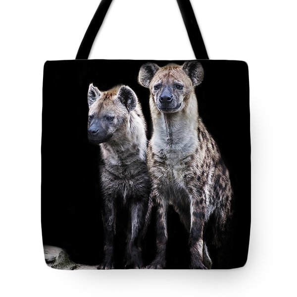 Hyena Lookout Tote Bag