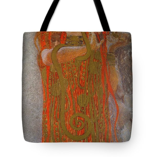 Hygieia Tote Bag by Gustav Klimt
