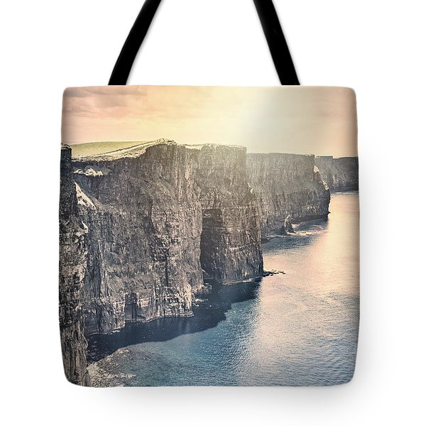 Hymn Of The Cliffs Tote Bag