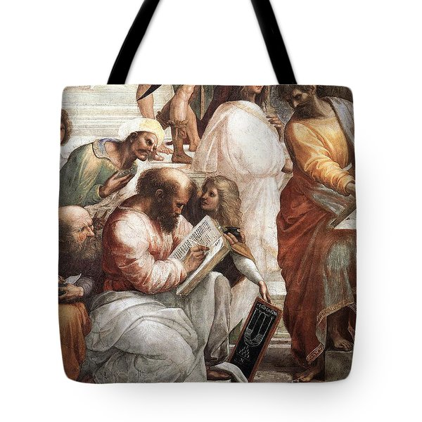 Hypatia Of Alexandria, Mathematician Tote Bag by Science Source