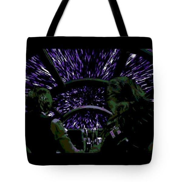 Hyper Space Tote Bag