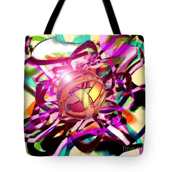 Hyperball Tote Bag