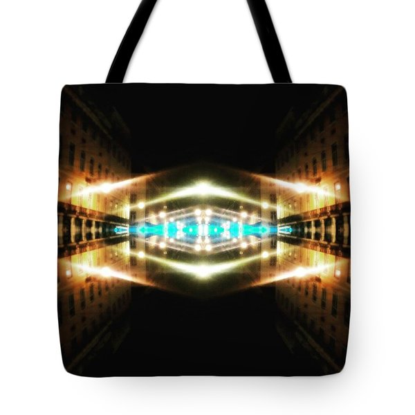 Hypergate To Lisbon Tote Bag by Jorge Ferreira