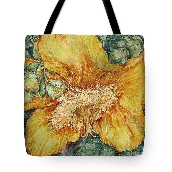Hypericum Plant Tote Bag
