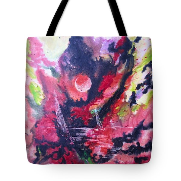 Hypnotic Haze Tote Bag