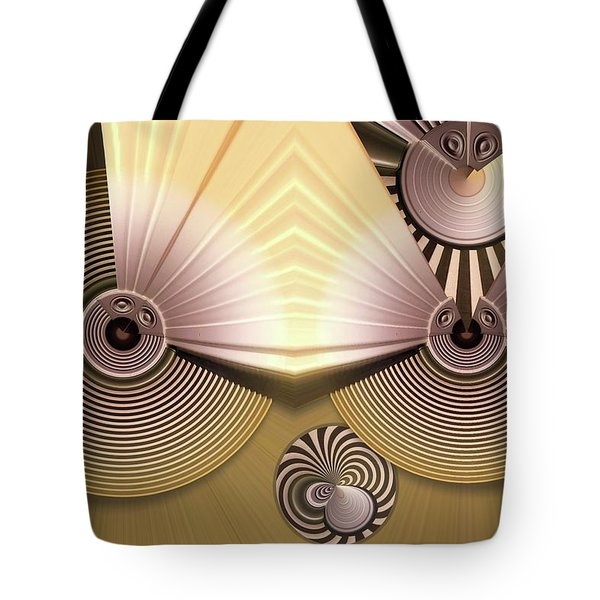 Hypnotic Tote Bag by Ron Bissett