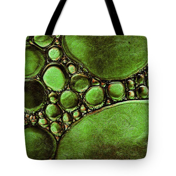 Tote Bag featuring the mixed media Hypothetica Parasitus by Lita Kelley