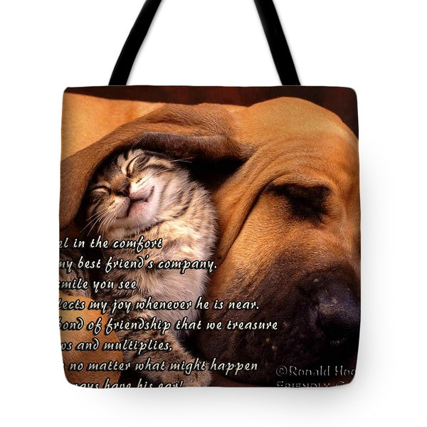 I Always Have His Ear Tote Bag