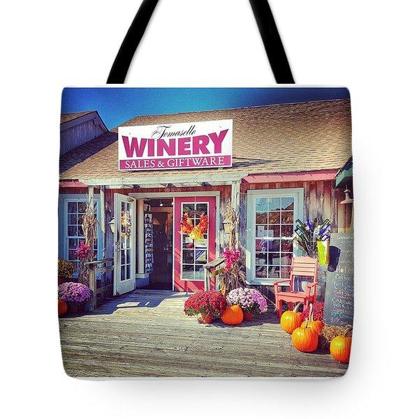 Tomasello Winery Tote Bag