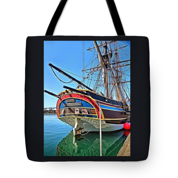 Tote Bag featuring the photograph I Am A Lady by Thom Zehrfeld