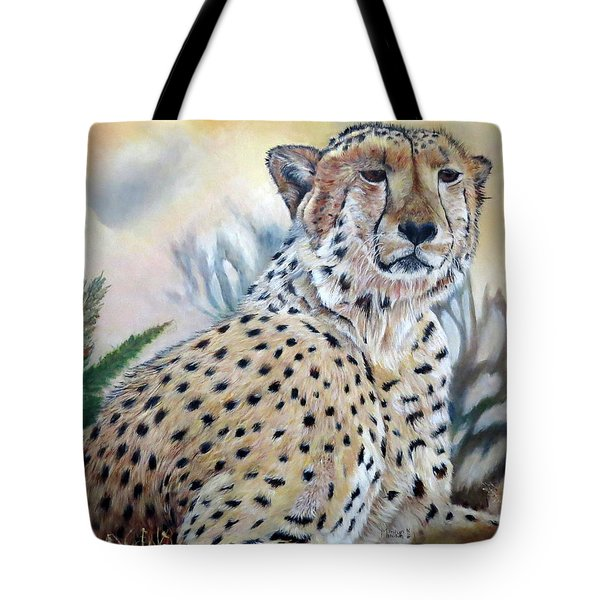 I Am Cheetah 2 Tote Bag