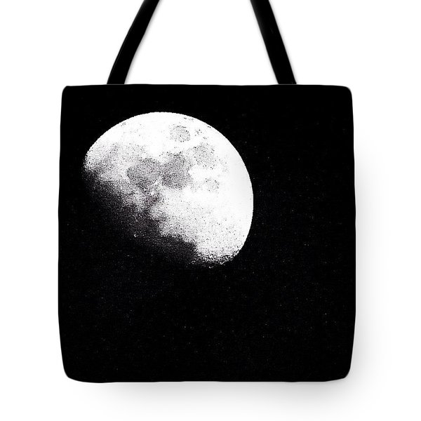 I Am Crazy About This January #moon Tote Bag