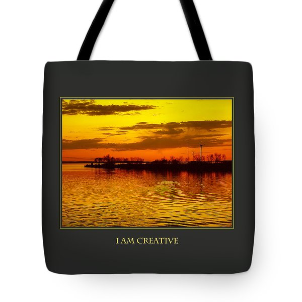 I Am Creative Tote Bag by Donna Corless