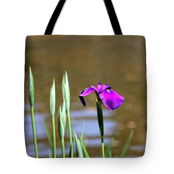 Tote Bag featuring the photograph I Am First  by Yumi Johnson